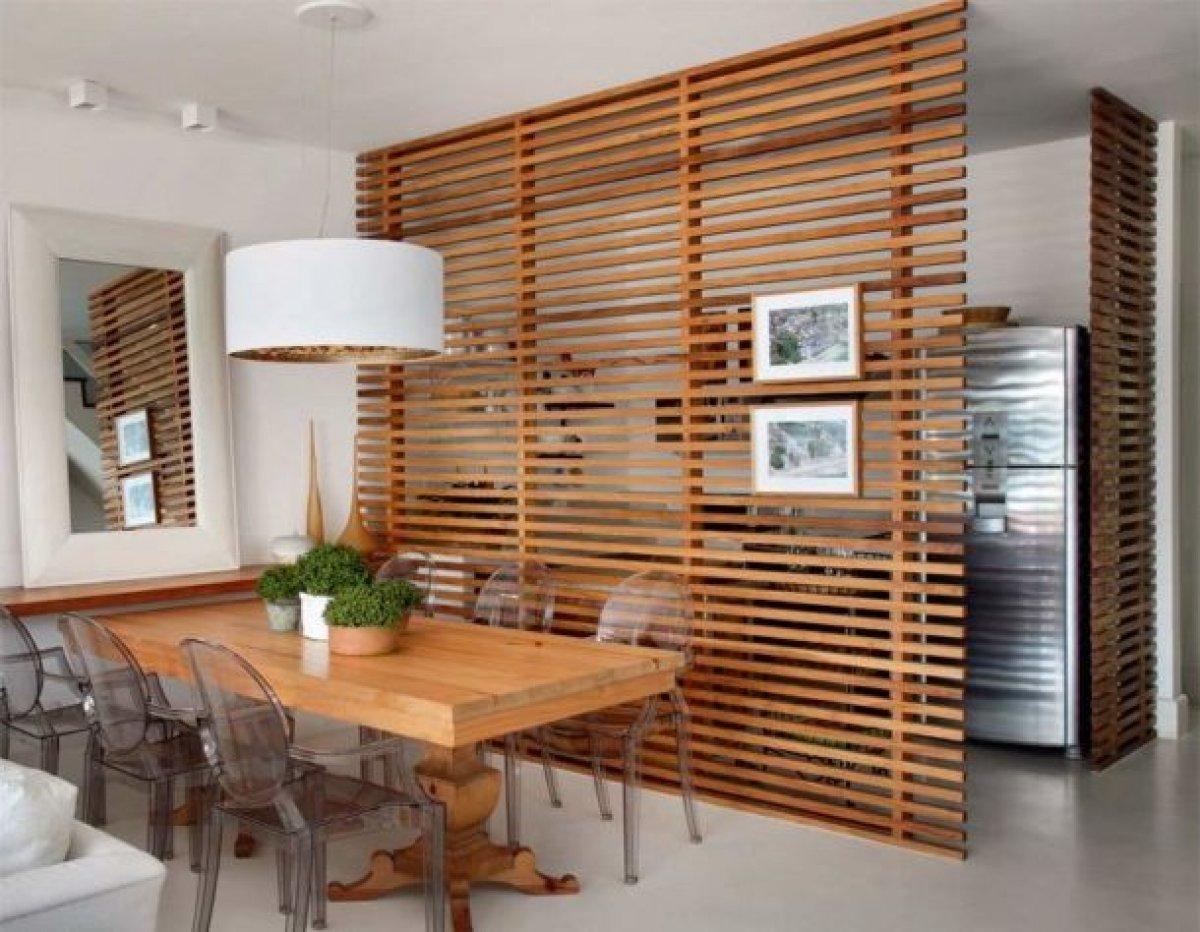 Перегородка между кухней и гостинной