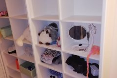 Мансарда-гардероб!