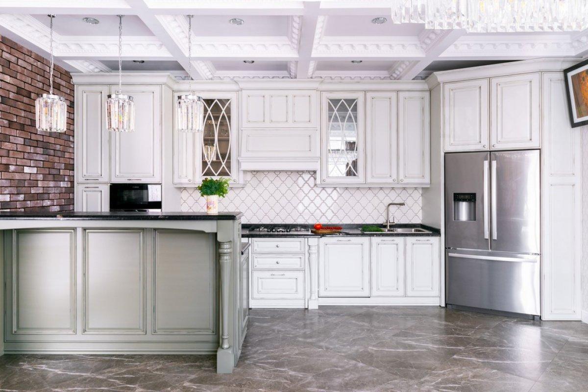 Кухня в стиле неоклассика!